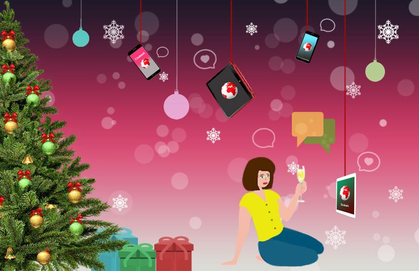 Новогодние знакомства по всему миру вместе с онлайн видео чатом